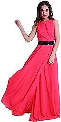 D & S Women's Dress (DNSNEW14057M_Pink_Medium)