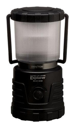 Gentos LED Lantern Explorer EX-313CW 22-hours Continuous 300 Lumens