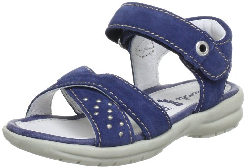 Lurchi Tanja Sandals Girls blue Blau (Navy 22) Size: 34