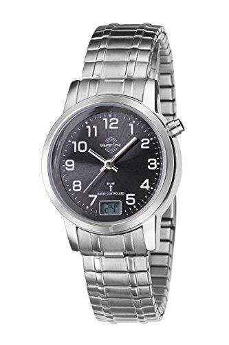 Mastertime Damen-Funkuhr Master Time Funk Basic Series Damenuhr MTLA-10309-22M Damen-Funk-Armbanduhr