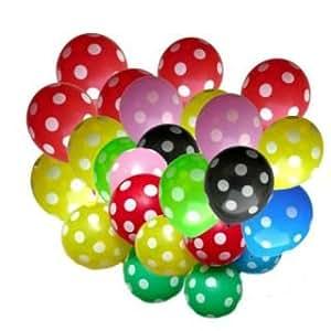 LIGHTER HOUSE Polka Dot Balloons for Birthday Parties