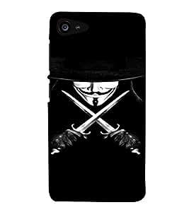 PrintVisa Vendetta Design 3D Hard Polycarbonate Designer Back Case Cover for Lenovo Zuk Z2