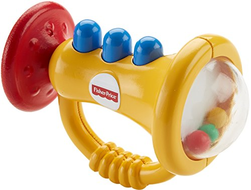 Fisher-Price  Teethe 'n Rattle Trumpet (Fisher Price Rattle Teether compare prices)