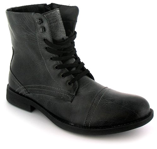 Military Boots Men Mens Black Military Style