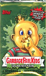 Topps Garbage Pail Kids All New Series 1 Unopened Pack
