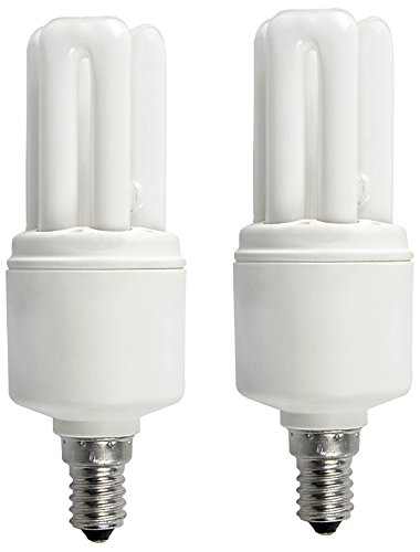 Osram 5W 3U E27 Mini Stick CFL Bulb (White, Pack of 2)