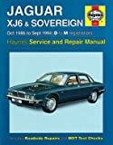 Haynes Workshop Manual JAGUAR XJ6 & Sovereign 86-94