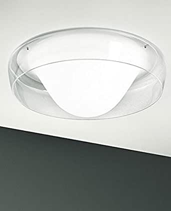 Jelly Fish 40 Wall / Ceiling Light - crystal white, 110 - 125V (for use in the U.S., Canada etc ...