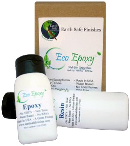 Earth Safe Finishes Eco-Epoxy Kit, No Voc