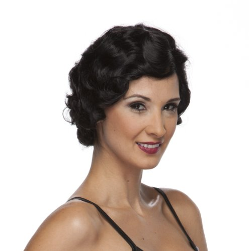 Characters-Roaring-20s-Wig-Black
