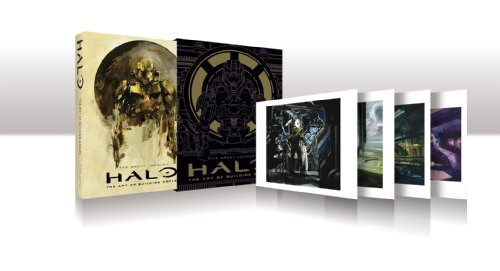 Halo: The Art of Bulding Worlds Limited Edition print