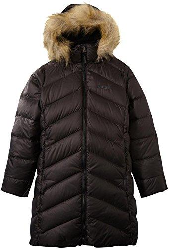 Marmot Little Girls' Montreux Coat (Kid) - True Black - X-Small