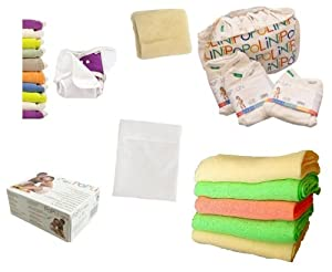 Popolini - Juego de productos Popolini de la gama OneSize y Rainbow (tamaño XXL) en BebeHogar.com