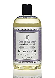 Deep Steep Honey Bubble Bath, Soothing Formula, 17-Ounces  (Pack of 2)