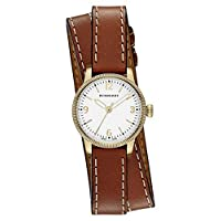Burberry 'Utilitarian' Round Leather Wrap Watch 30mm 女性 レディース 腕時計 並行輸入