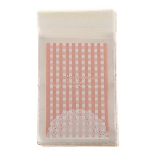 100x-autoadhesivas-galletas-aperitivo-de-caramelo-envolturas-embalaje-pequenas-bolsas-rosa