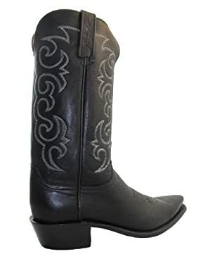 Buy Lucchese 1883 Mens Cowboy Boots NV 1501.54 Black by Lucchese