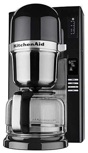 Fantastic Deal! KitchenAid KCM0802OB Pour Over Coffee Brewer, Onyx Black