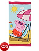 Stamion PP09005 Asciugamano Telo Mare Peppa Pig Drink