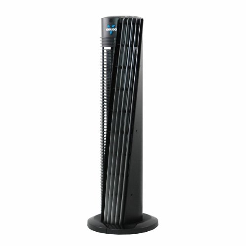 "Vornado 153 Tower Circulator - 32"" Upright Fan (Black)"