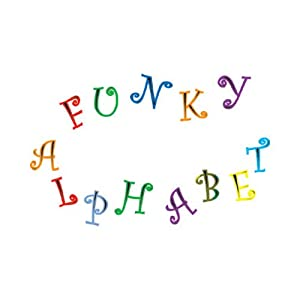 Amazon.com: FMM Upper Case Funky Alphabet & Number Tappit Cutters
