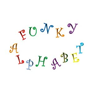 FMM Upper Case Funky Alphabet & Number Tappit Cutters Set