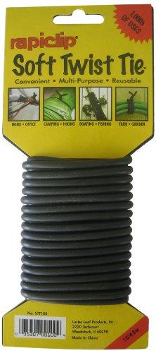 Luster Leaf STT100 Soft Twist Tie, Black