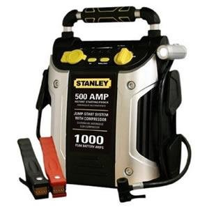 Stanley J5C09 1000 Peak Amp Jump Starter with Built in Compressor image