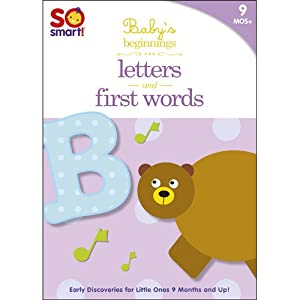 So Smart! Baby's Beginnings V.3: First Words; Letters