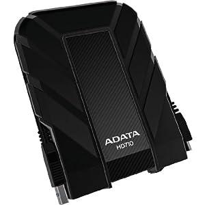 (超赞)ADATA DashDrive HD710 1TU3-CBK 军用规格 1TB 外置硬盘 黑色 $93.05
