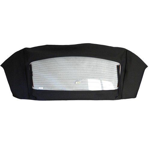 Ford Mustang Convertible Rear Heated Glass Window Section in Sailcloth Vinyl Black (1995 Ford Mustang Convertible Top compare prices)
