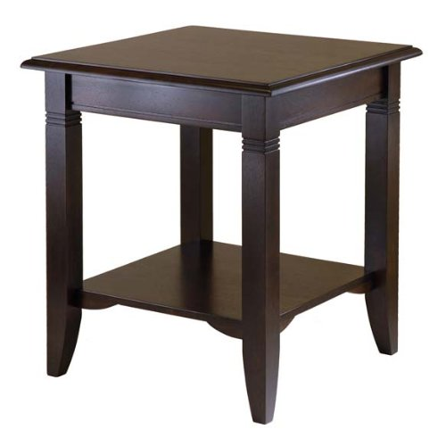 Cheap Furniture By Winsome Nolan End Table/Cappuccino (WIN40220)