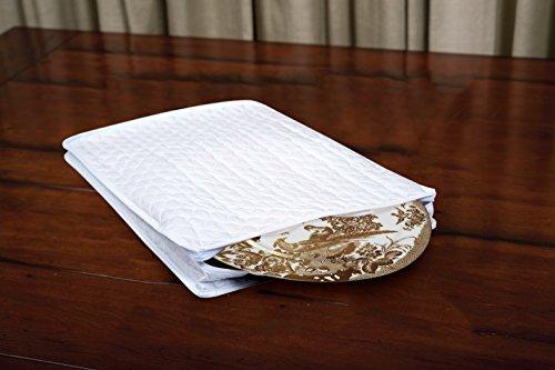 Marathon Housewares KW200005 Quilted Platter Storage Case - Vinyl (Foam Dinner Trays compare prices)