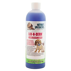 Nature's Specialties Lav-N-Derm Pet Shampoo, 16-Ounce