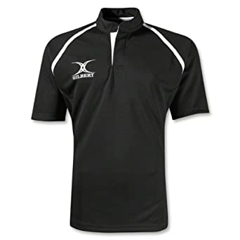 Buy Gilbert Xact Rugby Jersey (Black) by Gilbert