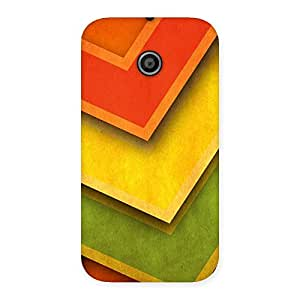 Design Of ColorMerge Back Case Cover for Moto E