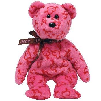 Imagen de IDAD Beanie Baby - HEARTLEY de San Valentín oso (Hallmark Exclusivo)
