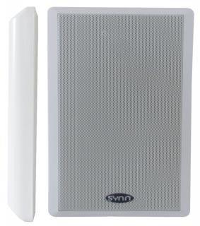 Dynavox WS-502 Flatpanel Lautsprecher (40 Watt) weiß (Paar)
