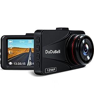 DuDuBell ドライブレコーダー 1296P スーパーHD ビデオ300万画素 静止画1200万画素