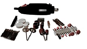 Professional Woodworker 51872 80-Piece Mini Rotary Tool Kit, 12-Pack