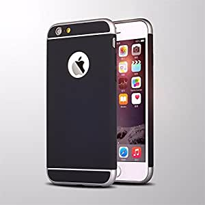 iPhone 6S Case,iPhone 6 Case Ebakx [Platinum Series] Ultra Slim Premium Polycarbonate Metallic Hard Protective Case for iPhone 6 & 6S Case 4.7 inch (Black)