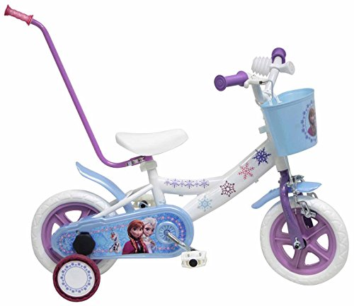 Disney 14373 - Frozen Bicicletta con Canna, 10 Pollici