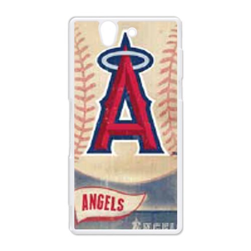 Generic Cell Phone Cases Cover For Sony Xperia Z Case L36 Fashionable Designed With Baseball Team Los Angeles Angels Background Personalized Case front-877150