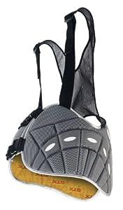Buy STX Lacrosse STX Rival Small Rib Pad for Lacrosse (Black) by STX