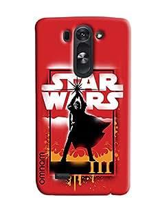 Omnam Star Wars Effect Printed Designer Back Cover Case For LG G3 Beat