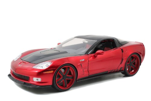 Chevy 2009 Chevrolet Corvette ZR1 Red Lopro 1/18 by Jada 96627 at Sears.com