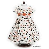 Vintage Polka Dot Dress - Fits 18