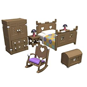 Sylvanian Families Bedroom Furniture Set Toys Games