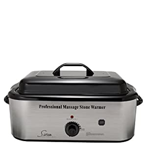 Sivan Health and Fitness 18QHTR Top Massage Large Professional Hot Stone 18 Quart Heater