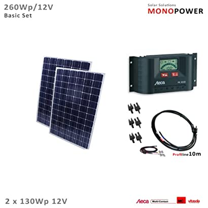 Offgridtec MC4 Verlängerung 50cm 6mm MC-4-Verbindungskabel Solaranlage Solar